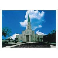 Houston Texas Temple 3X4