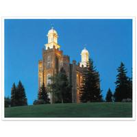 Logan Utah Temple 3X4