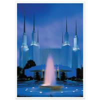 Washington D.C. Temple 5X7