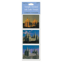 Salt Lake Temple Stickers