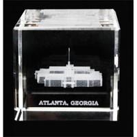 Atlanta Georgia Temple Crystal Cube