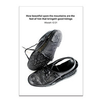 Missionary Shoes Greeting Card