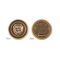 Duty to God Coin