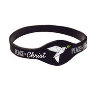 Peace in Christ Silicone Bracelet