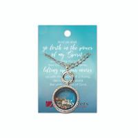 Missionary Charm Locket Necklace