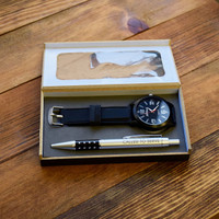 Elder Missionary Pen and Watch Gift Set