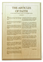 THE ARTICLES OF FAITH - 10x14