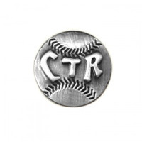 CTR Baseball Pin