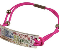 Young Women Values Bungee Bracelet