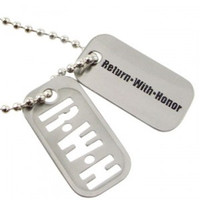 Return With Honor Dog Tags