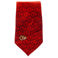 Boys' CTR Red Club Tie