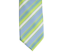 Boys CTR Green and Blue Stripe Tie