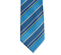 Boys CTR Royal Blue Stripe Tie