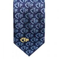Mens CTR Blue Club Tie