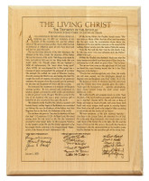The Living Christ - 8x10