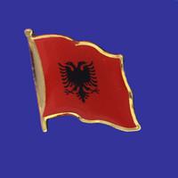 ALBANIA FLAG PIN