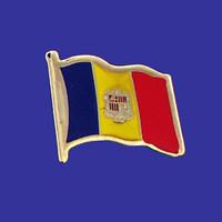 ANDORRA FLAG PIN