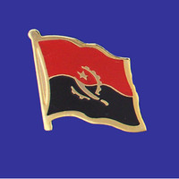 ANGOLA FLAG PIN