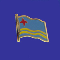 ARUBA FLAG PIN