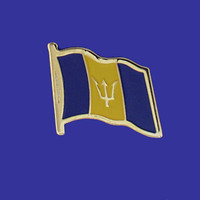 BARBADOS FLAG PIN