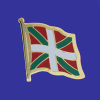 BASQUE FLAG PIN