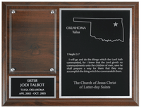 Missionary Plaque - 7x9