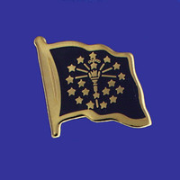 INDIANA STATE FLAG PIN