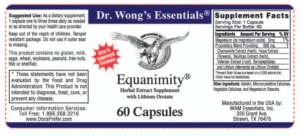 Equanimity®: label information