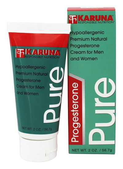 Karuna Pure Progesterone Cream: 2 oz