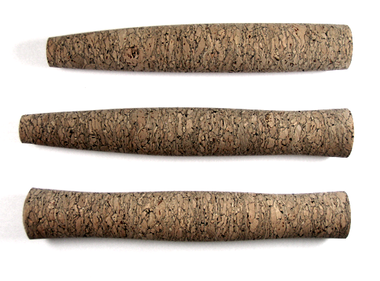 Custom burl cork grip.