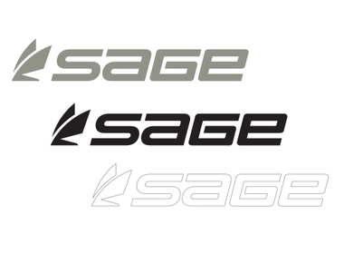Sage Logo Thermal Die Cut Stickers