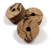 "Wave ""Swirl"" Burl Vertical Cork Ring"