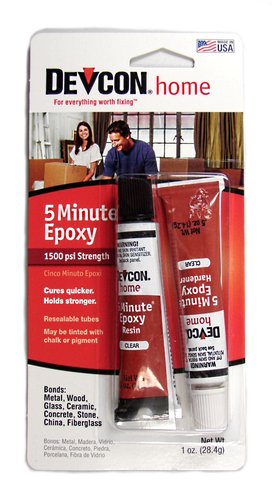 This is an excellent epoxy adhesive to mount grips, reel seats, tip tops, etc. Devcon 5-min epoxy glue.