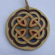 Celtic Knot Round Hanging