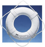 "Jim Buoy Life Ring 19"" White"