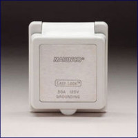 Marinco Replacement Cap and Bezel For 30 Amp Power Inlet