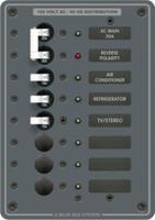 Blue Sea Systems 8027 120V AC Main + 6 Pos. Cir. Breaker Panel