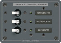 Blue Sea Systems 120V AC 3 Position  8058