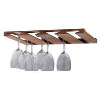 Whitecap Solid Teak Overhead Wine Glass Rack