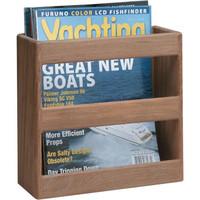 Whitecap Teak Magazine/Utility Rack