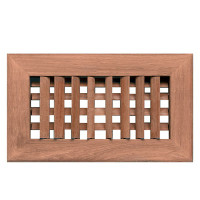 Whitecap Teak Air Conditioning Vent