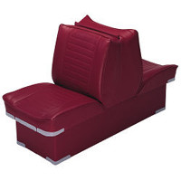 "Wise Back-to-Back Economy Lounge Boat Seat with 8"" Base  WD521P-1"