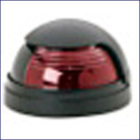 Attwood 5040R7 Red Bow Light Horizontal Deck Mount