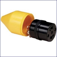 Marinco Female Phone Plug Connector and Cover  PH6629