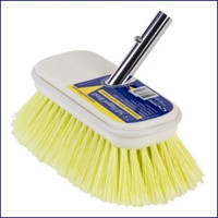 Swobbit SW77345 7.5 in Soft Flagged Premium Deck Brush - Yellow