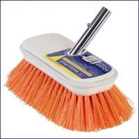 Swobbit SW77350 7.5 in Medium Premium Deck Brush - Orange