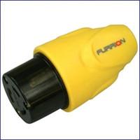 Furrion F20FMP-SY 20 Amp Plug Female - Yellow