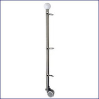 Attwood 14121-6 Flag Pole With Rail Mount