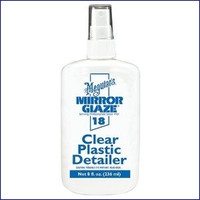 Meguiars M-1808 Clear Plastic Polish Cleaner in One 8 oz