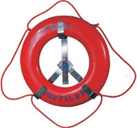 "Jim Buoy Premium Life Ring Rack -- 24""  1123-24"